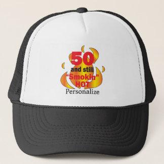 Gorra De Camionero 50 y nombre caliente del cumpleaños el | DIY de