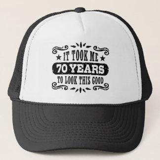 Gorra De Camionero 70.o Cumpleaños