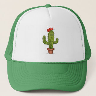 Gorra De Camionero Abráceme casquillo del cactus