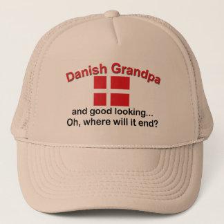Gorra De Camionero Abuelo danés apuesto