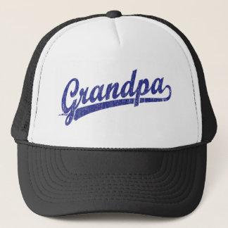 Gorra De Camionero Abuelo en azul
