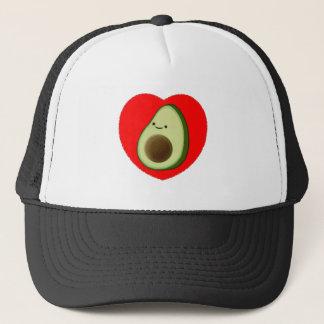 Gorra De Camionero Aguacate lindo en corazón rojo