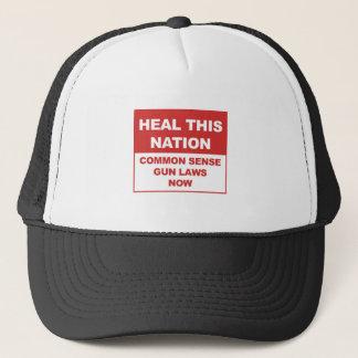 Gorra De Camionero ¡Ahora cure esta nación - leyes del arma del