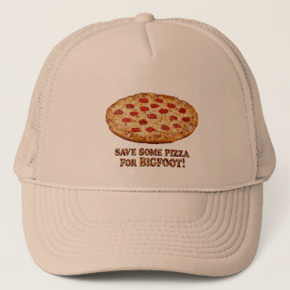 Gorra De Camionero Ahorre la pizza para BIGFOOT - ropa multi