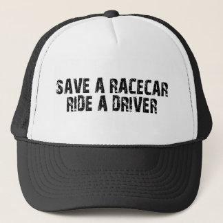 Gorra De Camionero Ahorre un paseo de Racecar un conductor