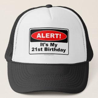 Gorra De Camionero ¡ALARMA de 21 regalos de cumpleaños! Su mi 21ro
