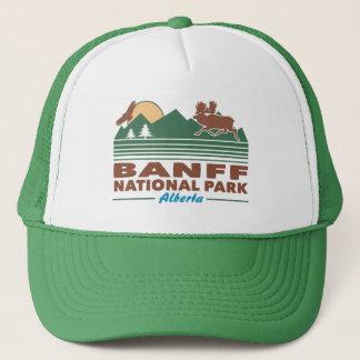 Gorra De Camionero Alces del parque nacional de Banff