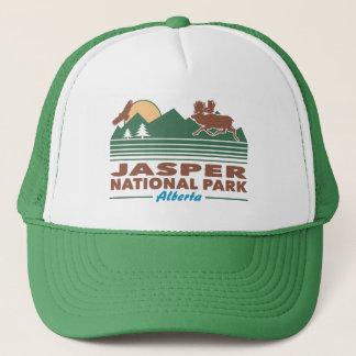 Gorra De Camionero Alces del parque nacional de jaspe