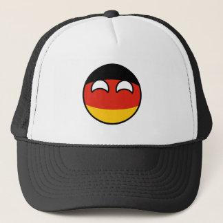 Gorra De Camionero Alemania Geeky que tiende divertida Countryball