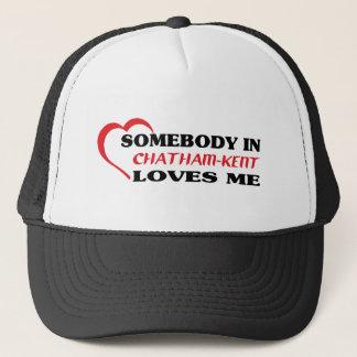 Gorra De Camionero Alguien en Chatham-Kent me ama