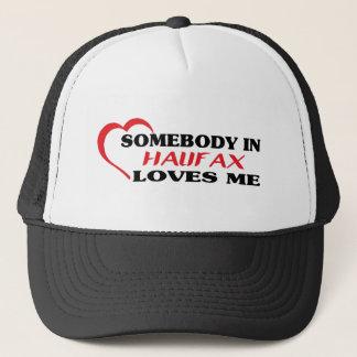 Gorra De Camionero Alguien en Halifax me ama