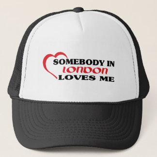 Gorra De Camionero Alguien en Londres me ama