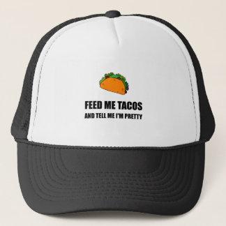 Gorra De Camionero Aliménteme el bonito del Tacos