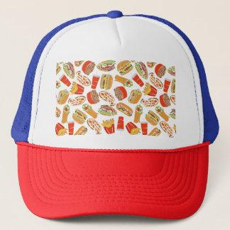 Gorra De Camionero Alimentos de preparación rápida del ilustracion