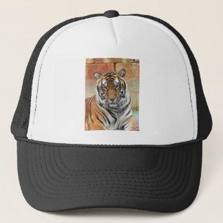 Gorra De Camionero Alquileres Tigres en la reflexión