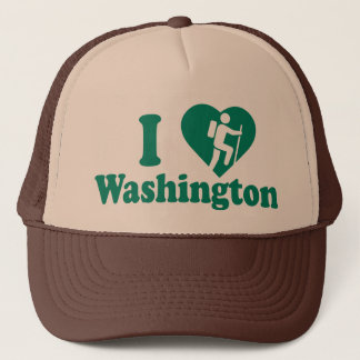 Gorra De Camionero Alza Washington