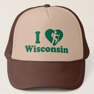 Gorra De Camionero Alza Wisconsin