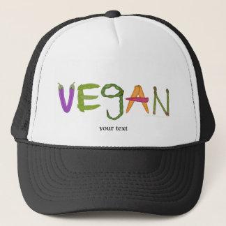 Gorra De Camionero Amantes de la verdura de los Veggies del vegano