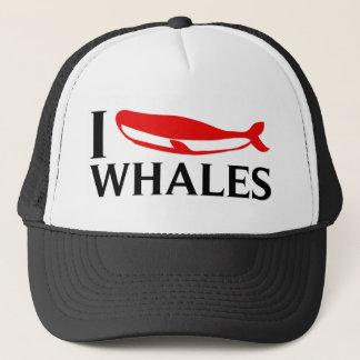 Gorra De Camionero Amo ballenas