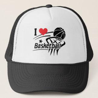 Gorra De Camionero Amo baloncesto