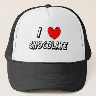 Gorra De Camionero Amo el chocolate