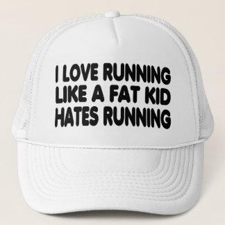 Gorra De Camionero Amo el correr