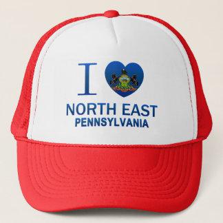 Gorra De Camionero Amo el este del norte, PA
