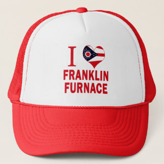 Gorra De Camionero Amo el horno de Franklin, Ohio