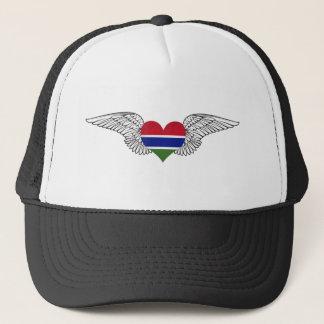 Gorra De Camionero Amo Gambia - alas