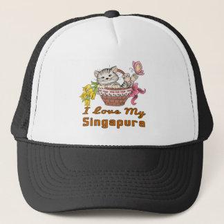 Gorra De Camionero Amo mi Singapura