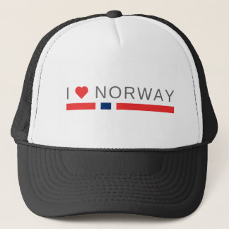 Gorra De Camionero Amo Noruega