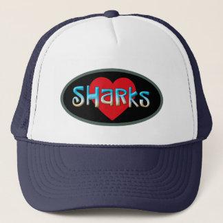 Gorra De Camionero Amo tiburones