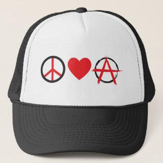 Gorra De Camionero Amor Anarchy.jpg de la paz