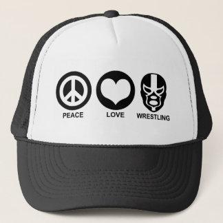 Gorra De Camionero Amor de la paz que lucha