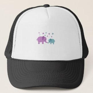 Gorra De Camionero Amor de los elefantes