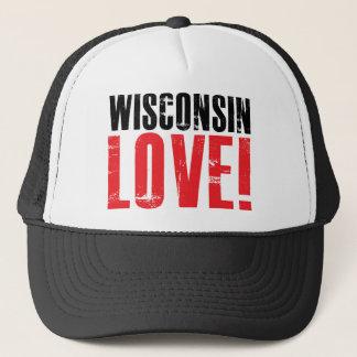 Gorra De Camionero Amor de Wisconsin