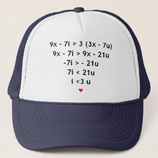 Gorra De Camionero Amor matemático