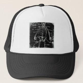Gorra De Camionero anatomía esquelética humana de Tokio del yaie
