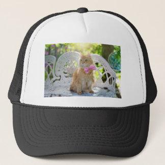 Gorra De Camionero Animal de mascota felino de la sol del verano del