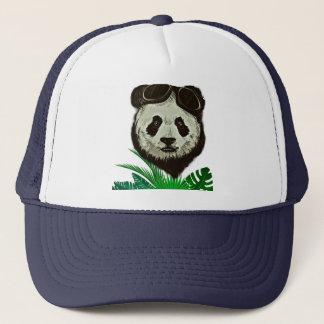 Gorra De Camionero Animal del oso de panda del inconformista