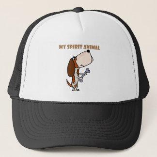 Gorra De Camionero Animal divertido del alcohol de Basset Hound