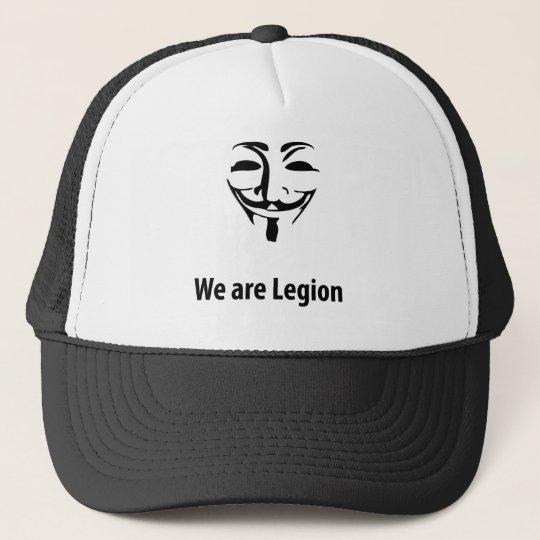 Gorra De Camionero Anonymous Somos legion (gorra)