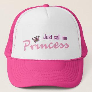 Gorra De Camionero Apenas llámeme princesa