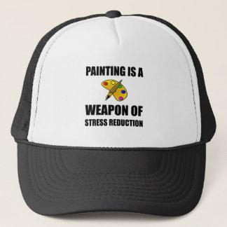 Gorra De Camionero Arma de la pintura de la reducción del estrés