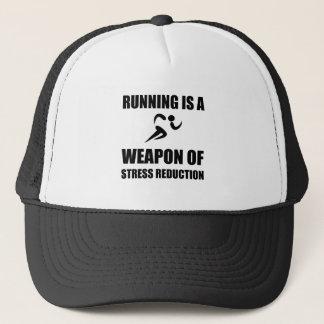 Gorra De Camionero Arma del funcionamiento de la reducción del estrés