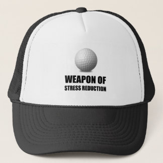 Gorra De Camionero Arma del golf de la reducción del estrés