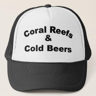 Gorra De Camionero Arrecifes de coral y cerveza fría
