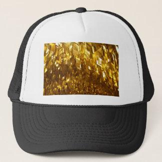 Gorra De Camionero Arte abstracto del techo del oro