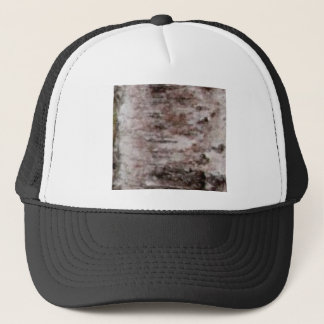 Gorra De Camionero arte blanco escamoso de la corteza