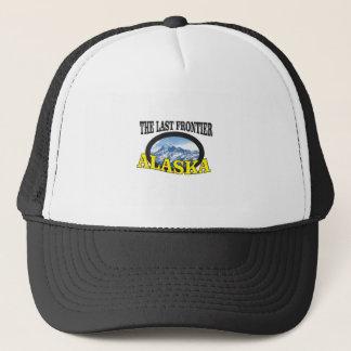 Gorra De Camionero arte del logotipo de Alaska